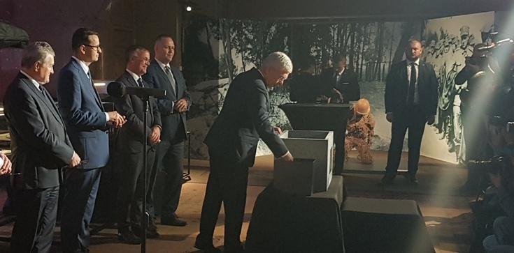 Wmurowano kamień węgielny pod Muzeum Westerplatte i Wojny 1939 - zdjęcie
