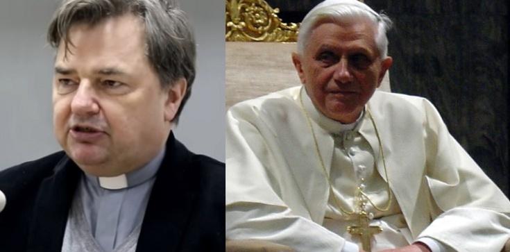 Ks. prof. Paweł Bortkiewicz dla Frondy: Benedykt XVI po prostu zmiażdżył błędy współczesności - zdjęcie