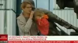 OPARY ABSURDU pod Sądem Najwyższym!!! 'Moja córka zasypiając krzyczy: wolne sądy! Konstytucja!' - miniaturka