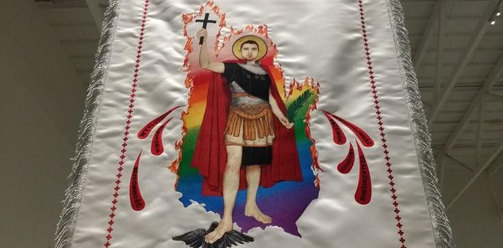 SKANDAL!!! Różańce z krwi gejów w muzeum w Warszawie!!! - zdjęcie