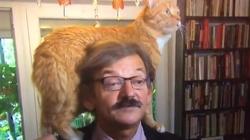 Dr Targalski udziela wywiadu. I wtedy pojawia się ON!!! To wideo podbija sieć! - miniaturka