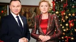 'Bóg się rodzi! Bądźmy razem'! Świąteczne życzenia od Pary Prezydenckiej - miniaturka