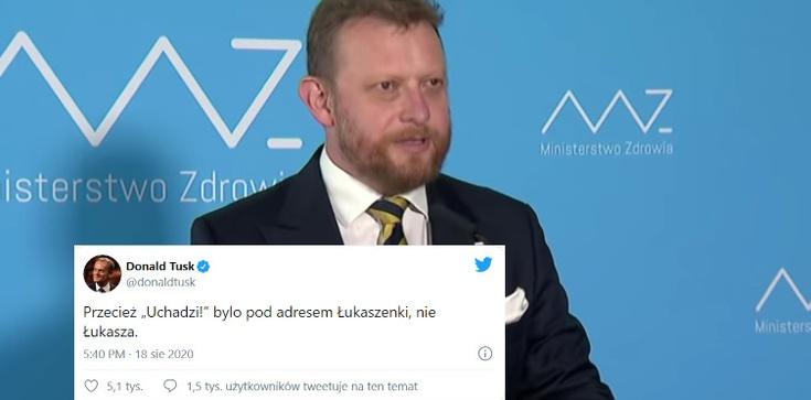 Tusk szydzi z prof. Szumowskiego. Odpowiada mu poseł Bortniczuk - zdjęcie
