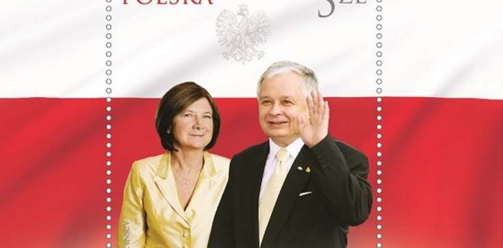 Znakomity pomysł Poczty Polskiej! Znaczek upamiętniający 10 IV 2010 - zdjęcie