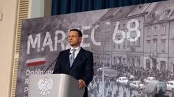 Premier Mateusz Morawiecki: Marzec '68 dla Polski, Polaków powinien być powodem do dumy, a nie wstydu - miniaturka