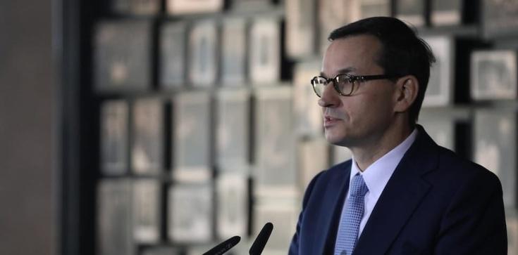 Premier Mateusz Morawiecki jasno o tych, którzy zakłamują historię - zdjęcie