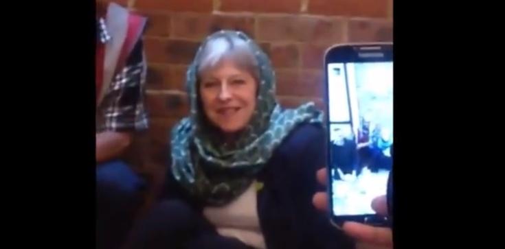 Z kim trzyma Theresa May? SZOKUJĄCE nagranie!!! - zdjęcie