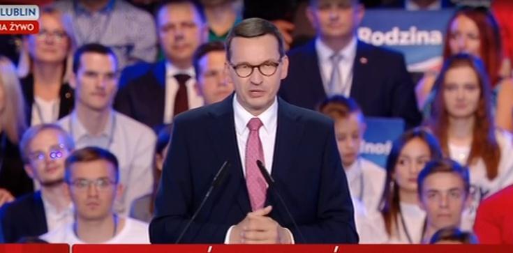 Premier Morawiecki: Proponujemy ZUS od dochodu - zdjęcie