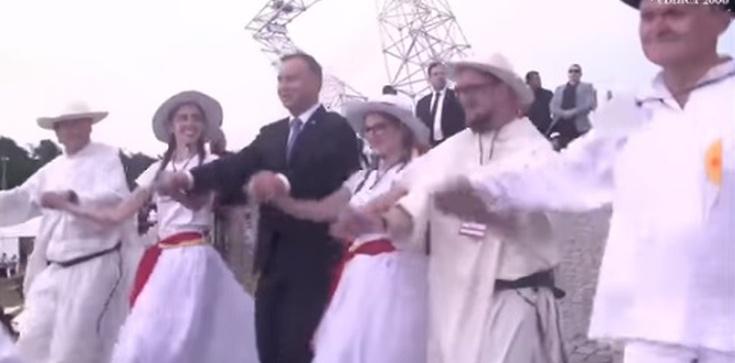 Jerzy Bukowski: Oto cała prawda o tańcu prezydenta Dudy na Lednicy - zdjęcie