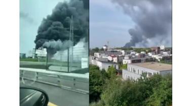 IMGW ostrzega: toksyczna chmura znad Leverkusen dociera do Polski - miniaturka