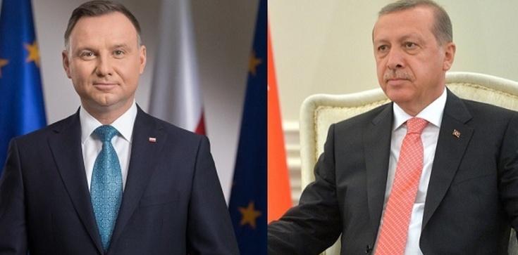 Duda rozmawiał z Erdoganem. Czy uda się zażegnać spór? - zdjęcie