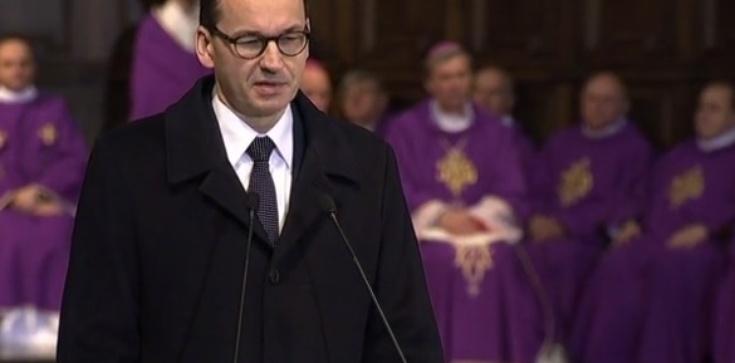 Premier Morawiecki: Jan Olszewski był uosobieniem polskiej niepodległości - zdjęcie