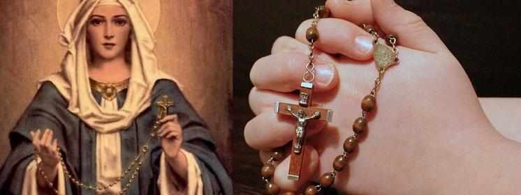 Znalezione obrazy dla zapytania raniec Matka Boa
