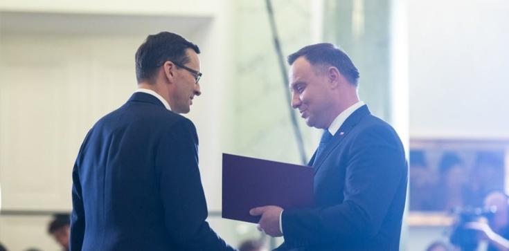 Prezydent Andrzej Duda desygnował Mateusza Morawieckiego na premiera - zdjęcie
