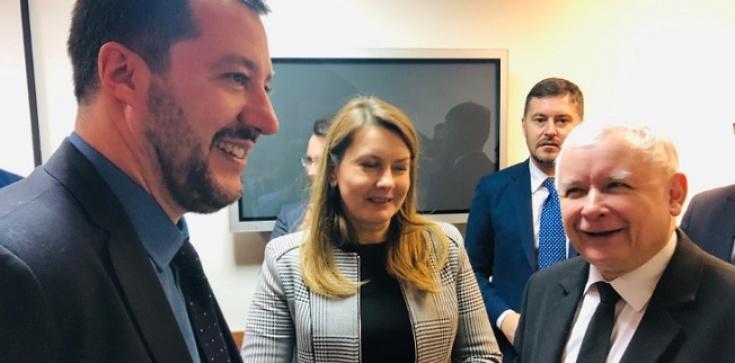 'Europa przyszłości'. Kulisy spotkania Kaczyński-Salvini - zdjęcie