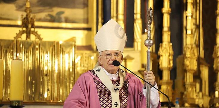 Abp. Jędraszewski: mamy prawo dziękować Bogu za braci Kaczyńskich - zdjęcie