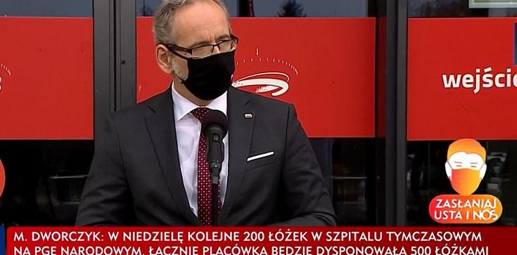 Minister Zdrowia: Powoli zbliżamy się do realizacji stabilizacji ścieżki zachorowań - zdjęcie