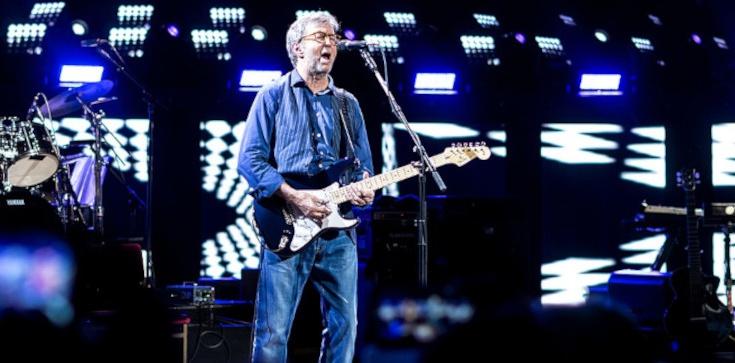 Eric Clapton przeciwko segregacji sanitarnej  - zdjęcie