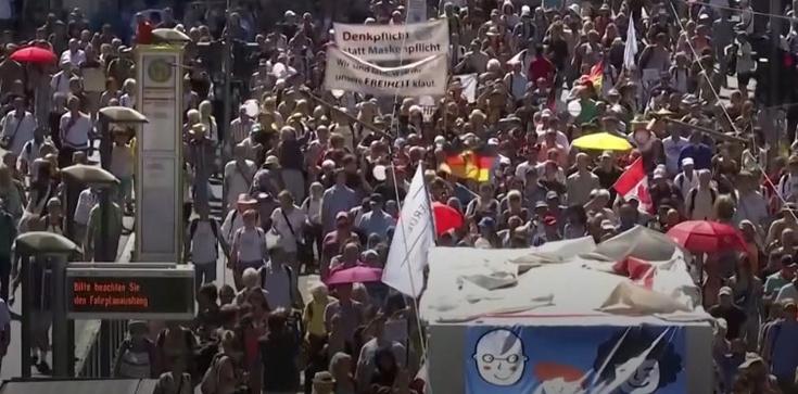 Radykalizacja antycovidowców w Niemczech. Grożą obaleniem rządu  - zdjęcie