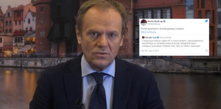 Tusk zapowiada swój wywiad w TVN. Pytania dostał mailem?  - zdjęcie