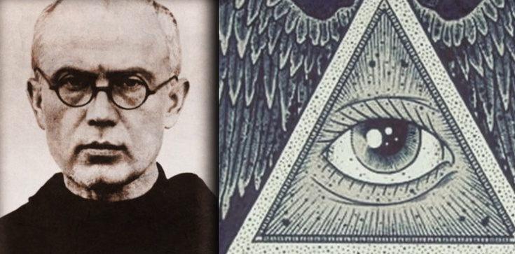 Św. Maksymilian i spotkanie z masonerią  - zdjęcie