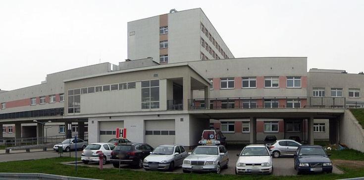 Tragedia w poznańskim szpitalu. Mężczyzna wypadł przez okno - zdjęcie