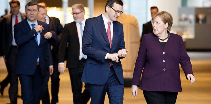 Niemieckie media atakują Morawieckiego. ,,Zakwestionował wyjątkowość Holokaustu'' - zdjęcie