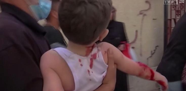Palestyna. W wyniku izraelskich nalotów zginęło już co najmniej 30 osób - zdjęcie