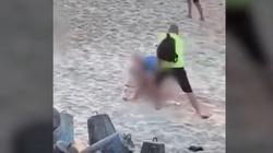 [Wideo] Mielno. Para uprawiała seks na plaży w biały dzień wśród turystów i dzieci - miniaturka