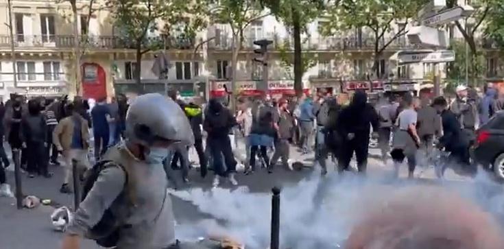 [Wideo] Francja. Ogromne protesty w wielu miastach przeciwko decyzjom Macrona ws. certyfikatów sanitarnych i obowiązkowych szczepień - zdjęcie