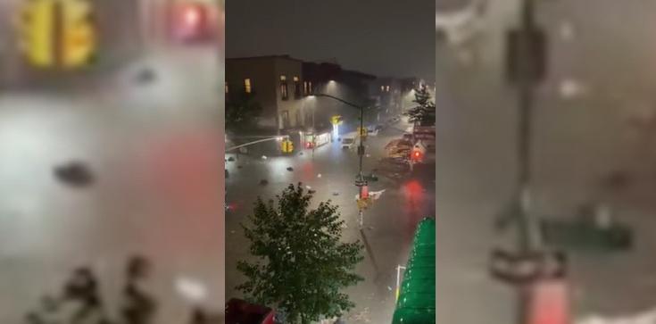 """Wideo. ''Nie wychodźcie na zewnątrz"""". Przerażające powodzie w USA - zdjęcie"""