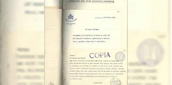 Watykańskie archiwa obalają czarną legendę Piusa XII - zdjęcie