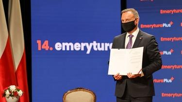 Ustawa o tzw. 14. emeryturze podpisana przez Prezydenta - miniaturka