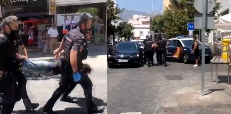 [Wideo] Hiszpania. Taranował samochodem klientów ogródków restauracyjnych. Są ranni - zdjęcie