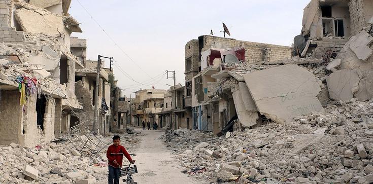 Ostrzał konwoju ONZ w Syrii. Zginęły 32 osoby - zdjęcie