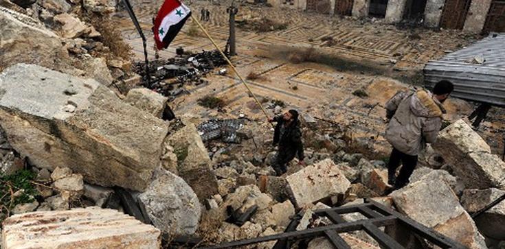 John Kerry: Reżim syryjski dokonuje w Aleppo masakry - zdjęcie