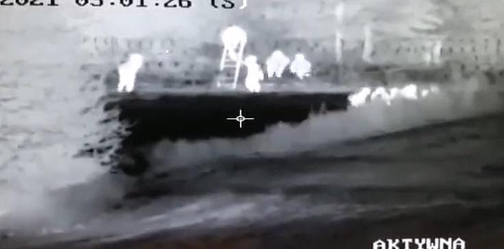 """[Wideo] Jak Białorusini pomagają forsować granicę """"imigrantom"""" - zdjęcie"""