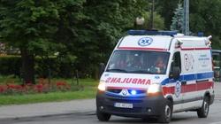 Warszawa. Samochody wpadły do wykopu przy budowie metra - miniaturka