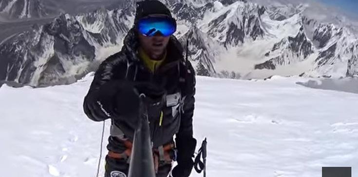 Polak dokonał niemożliwego!!! Andrzej Bargiel- pierwszy człowiek, który zjechał na nartach z K2 - zdjęcie