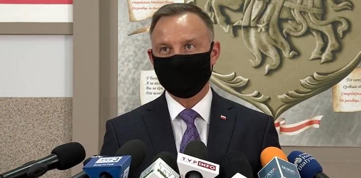 Prezydent Duda: Szuka się różnych możliwości skłócenia Polaków i Białorusinów - zdjęcie