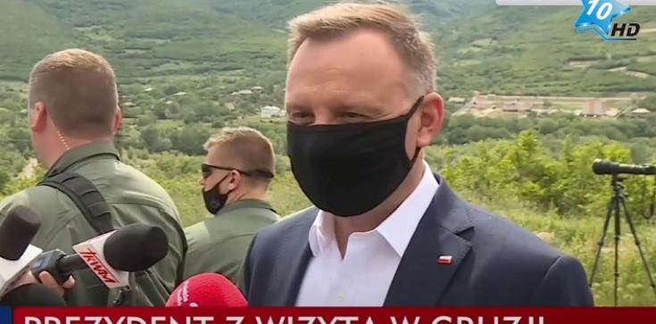 Kreml niezadowolony z przemówienia prezydenta Dudy w Gruzji - zdjęcie