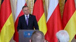 Prezydent Duda: Liczę na powrót Niemiec do dialogu ws. polskich strat wojennych - miniaturka