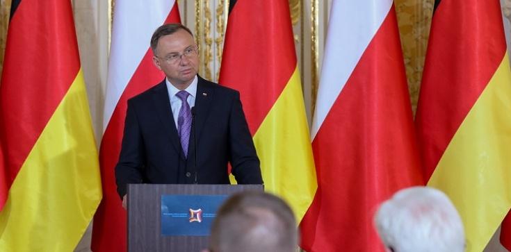Prezydent Duda: Liczę na powrót Niemiec do dialogu ws. polskich strat wojennych - zdjęcie