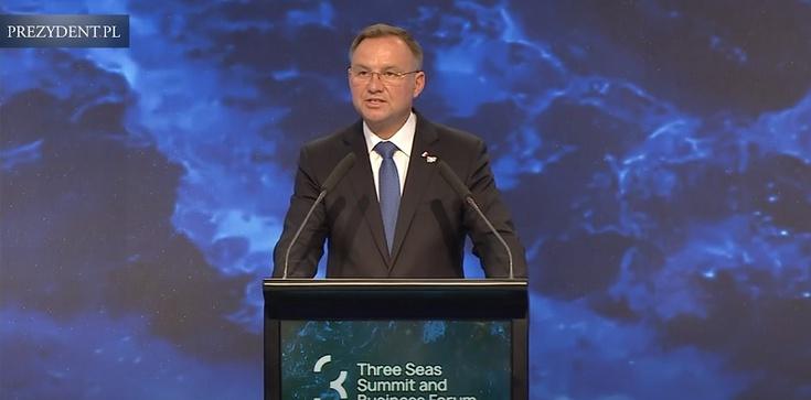 Prezydent: Trójmorze to najbardziej dynamicznie rozwijająca się część UE  - zdjęcie