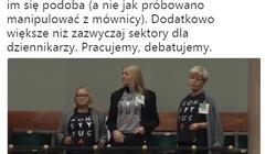'Obrońcy sądów' z dość marną frekwencją... KOD-ziarze też na galerii Sejmu - miniaturka