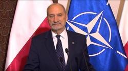 Macierewicz: Wojska NATO w Polsce to symbol bezpieczeństwa! - miniaturka