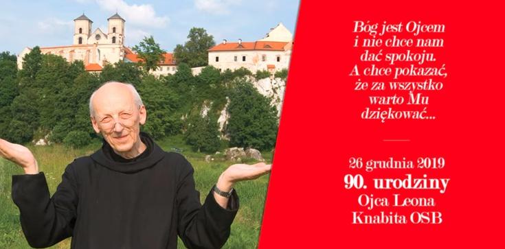 90. urodziny o. Leona Knabita. Dołącz do życzeń! - zdjęcie