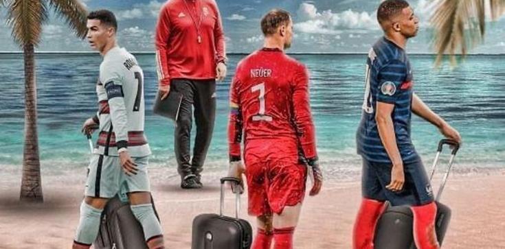 Trener Węgier zakpił z Niemców, Francuzów i Portugalczyków. ,,Widzimy się na plaży'' - zdjęcie