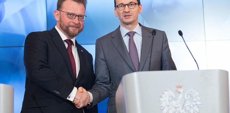 Premier podziękował prof. Szumowskiemu  - zdjęcie