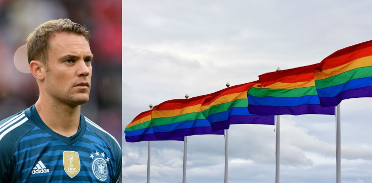 UEFA: zabraniamy symboli politycznych, chyba że chodzi o symbole LGBT - zdjęcie